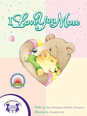 cover image of I Love You More
