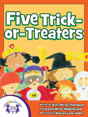cover image of Five Trick-Or-Treaters