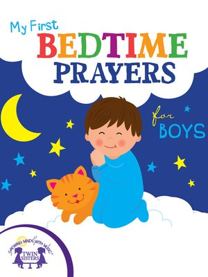 cover image of My First Bedtime Prayers for Boys