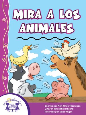 cover image of Mira a los animales