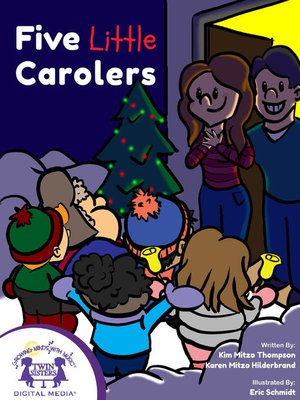 cover image of Five Little Carolers
