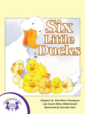 cover image of Six Little Ducks