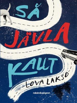 cover image of Så jävla kallt