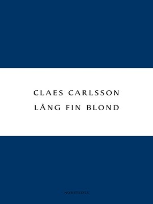 cover image of Lång fin blond