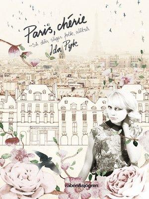 cover image of Paris, chérie