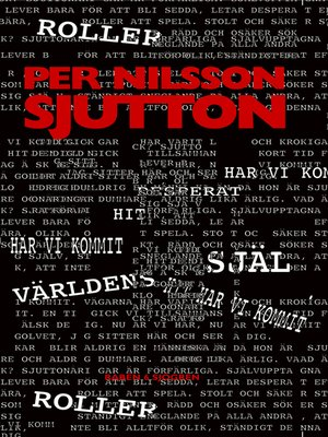 cover image of Sjutton