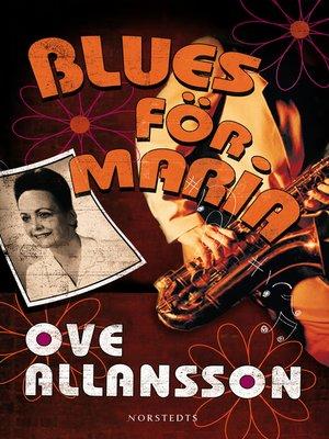 cover image of Blues för Maria