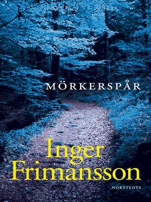 cover image of Mörkerspår