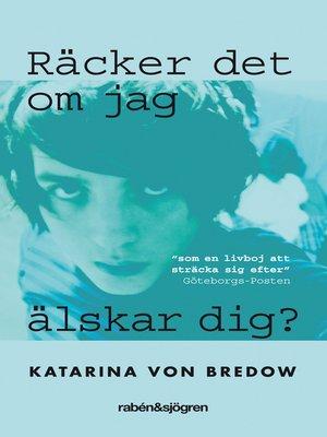 cover image of Räcker det om jag älskar dig?