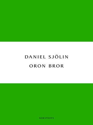 cover image of Oron bror
