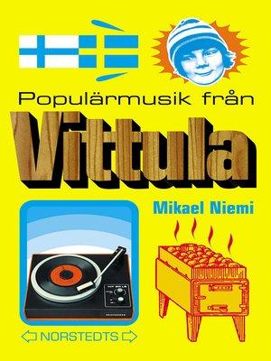 cover image of Populärmusik från Vittula