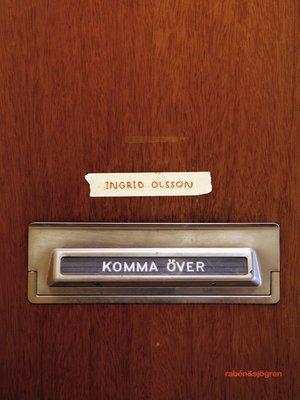 cover image of Komma över