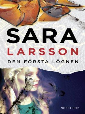 cover image of Den första lögnen