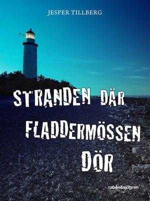 cover image of Stranden där fladdermössen dör