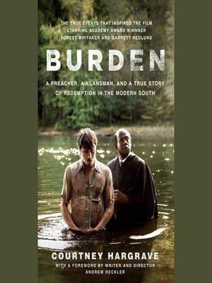 cover image of Burden (Movie Tie-In Edition)