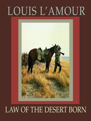 cover image of Law of the Desert Born