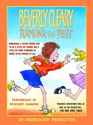 cover image of Ramona the Pest