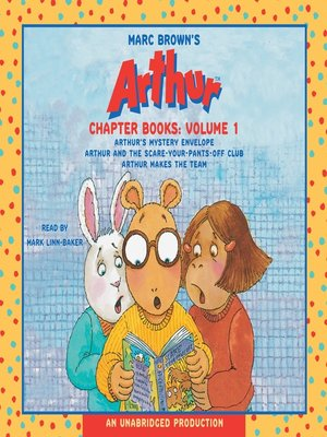cover image of Marc Brown's Arthur Chapter Books,  Volume 1