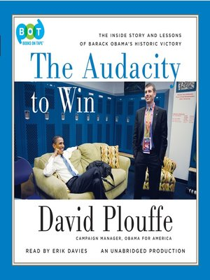 cover image of The Audacity to Win
