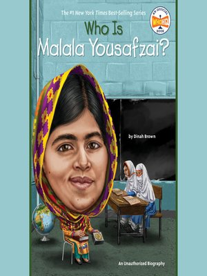 cover image of Who Is Malala Yousafzai?