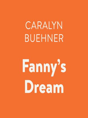 cover image of Fanny's Dream