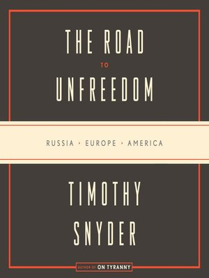 cover image of The Road to Unfreedom