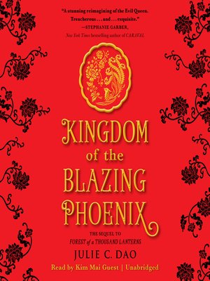 cover image of Kingdom of the Blazing Phoenix