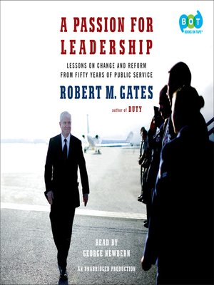 cover image of A Passion for Leadership