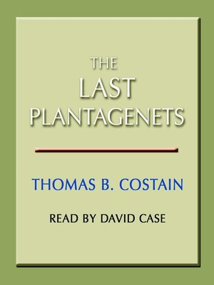 cover image of The Last Plantagenets