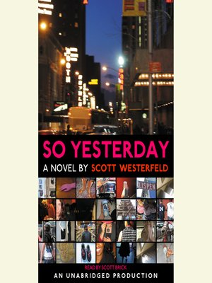 cover image of So Yesterday
