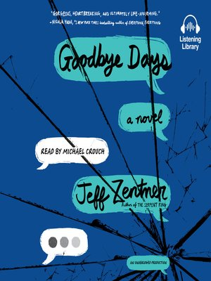 cover image of Goodbye Days