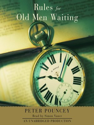 cover image of Rules for Old Men Waiting