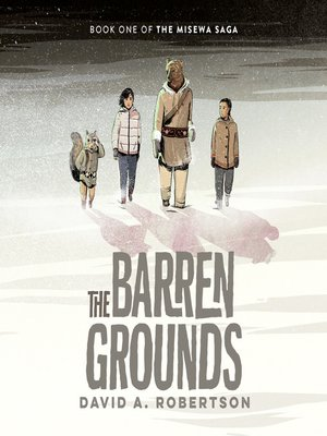 cover image of The Barren Grounds