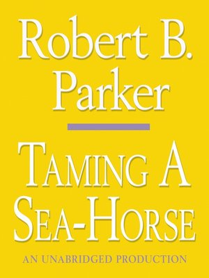 cover image of Taming a Sea-Horse