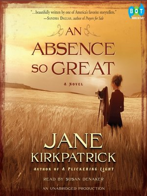cover image of An Absence So Great