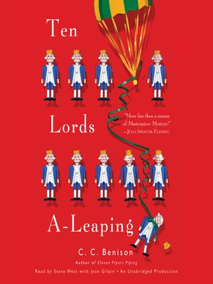 cover image of Ten Lords A-Leaping