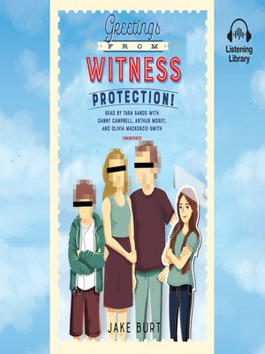 cover image of Greetings from Witness Protection!