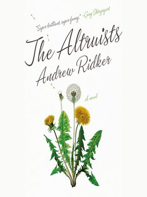 cover image of The Altruists