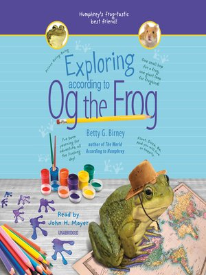 cover image of Exploring According to Og the Frog