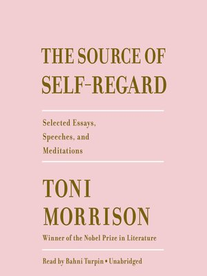 cover image of The Source of Self-Regard