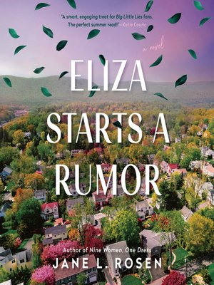 cover image of Eliza Starts a Rumor