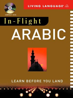 cover image of In-Flight Arabic