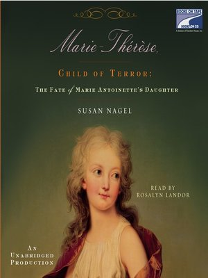 cover image of Marie Therese, Child of Terror