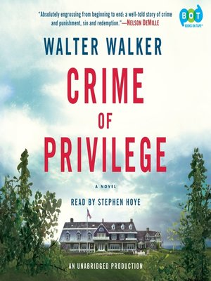 cover image of Crime of Privilege