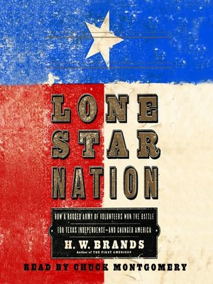 cover image of Lone Star Nation
