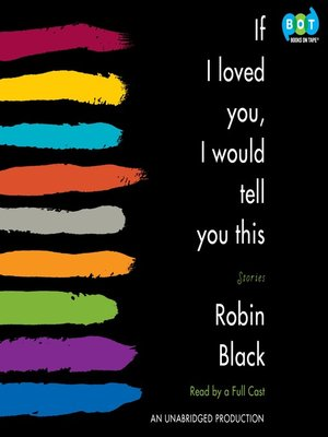 cover image of If I Loved You, I Would Tell You This