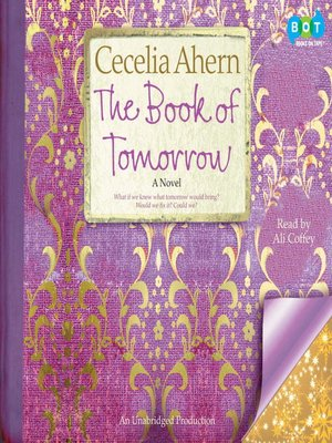 cover image of The Book of Tomorrow