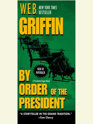 cover image of By Order of the President