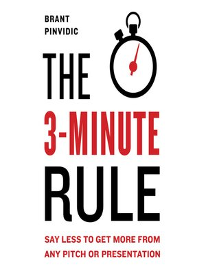 cover image of The 3-Minute Rule