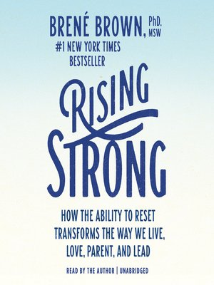 cover image of Rising Strong